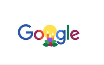 """""""Buone feste 2019"""": gli auguri di Natale di Google con un doodle"""