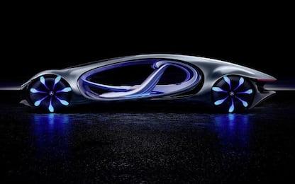 """Ces 2020, Mercedes presenta il veicolo ispirato al film """"Avatar"""""""