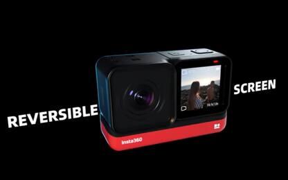 CES 2020, ecco l'action cam modulare Insta360 One R: riprende a 360°