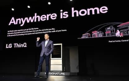 CES 2020, la casa intelligente di LG: ecco come funziona. VIDEO