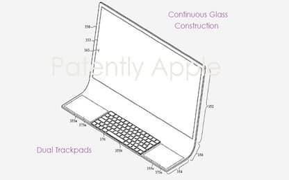 Apple, l'iMac del futuro in un brevetto: sarà tutto in un vetro