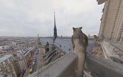 Notre Dame, dentro la cattedrale con la realtà virtuale. VIDEO