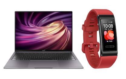Huawei, ecco tre nuovi laptop Matebook e il Band 4 Pro