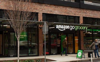 Amazon Go, a Seattle un supermercato senza casse da record