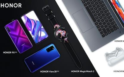 Honor, in arrivo due nuovi smartphone e due nuovi laptop