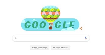 Il Doodle di Google oggi è dedicato alla Primavera