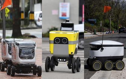 Coronavirus, la spesa arriva a casa con i robot. FOTO
