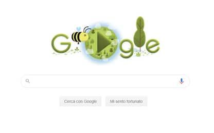 Google dedica un doodle alla Giornata della Terra 2020