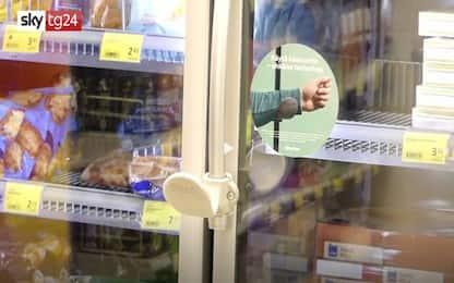 Finlandia, testate porte freezer che si aprono col gomito