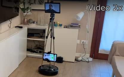 Coronavirus, i robot di telepresenza arrivano in tre ospedali italiani