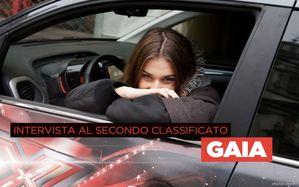 L'intervista alla seconda classificata: Gaia