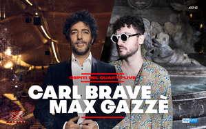 Carl Brave e Max Gazzè sono gli ospiti del quarto Live di X Factor 2018