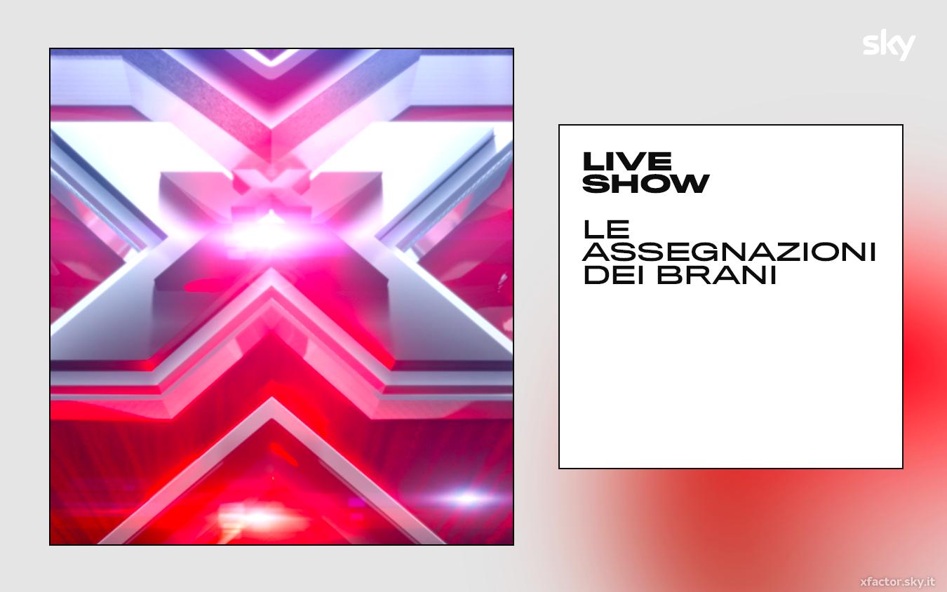 Le assegnazioni dei giudici per il terzo Live di X Factor 2019