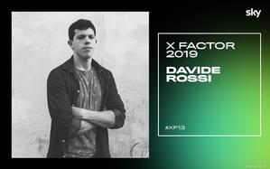 I concorrenti di X Factor 2019: chi è Davide Rossi VIDEO