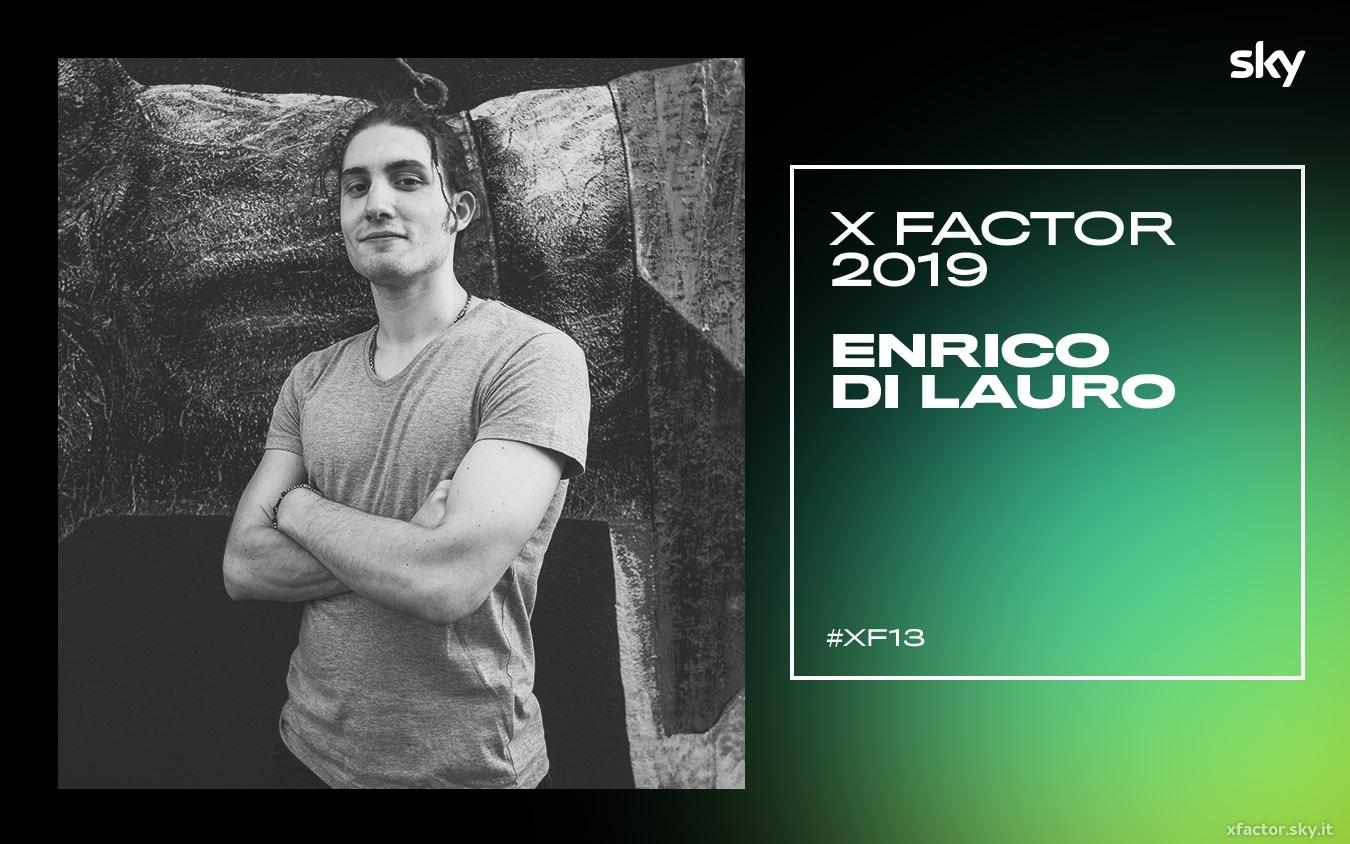 I concorrenti di X Factor 2019: chi è Enrico Di Lauro VIDEO