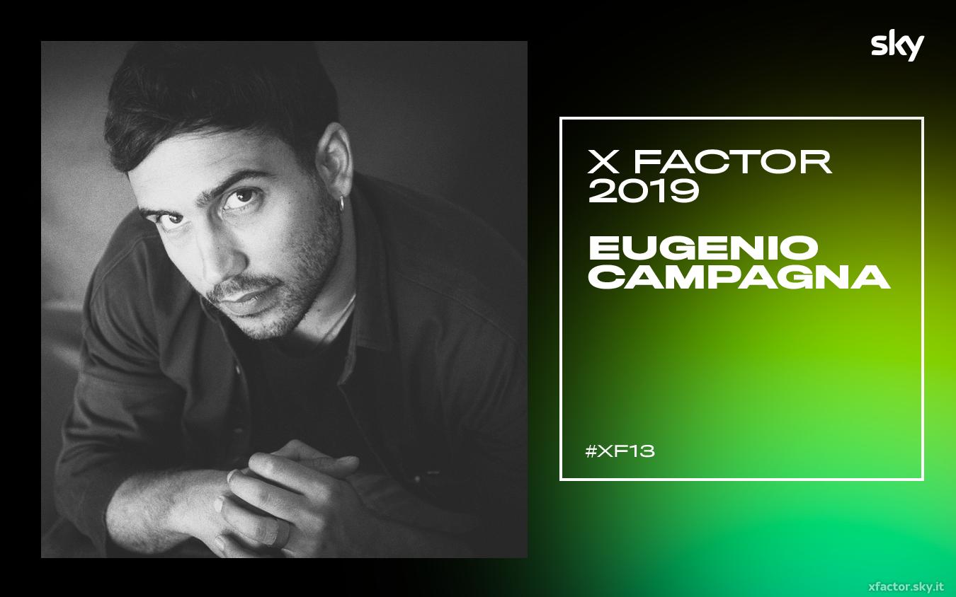 I concorrenti di X Factor 2019: chi è Eugenio Campagna VIDEO – X Factor | Sky Uno