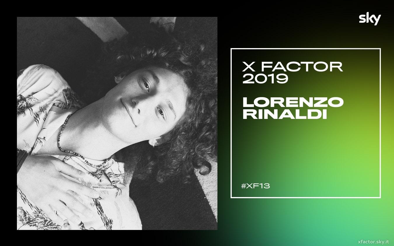 I concorrenti di X Factor 2019: chi è Lorenzo Rinaldi VIDEO