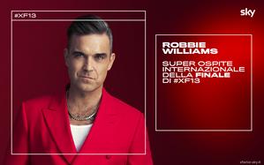 Robbie Williams super ospite internazionale della Finale di X Factor 2019