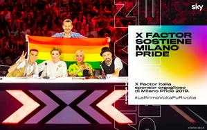 X Factor sponsor di Milano Pride 2019