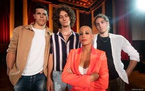 Le foto degli Home Visit degli Under Uomini a X Factor 2019