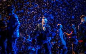 Le foto di Robbie Williams ospite della Finale di X Factor 2019