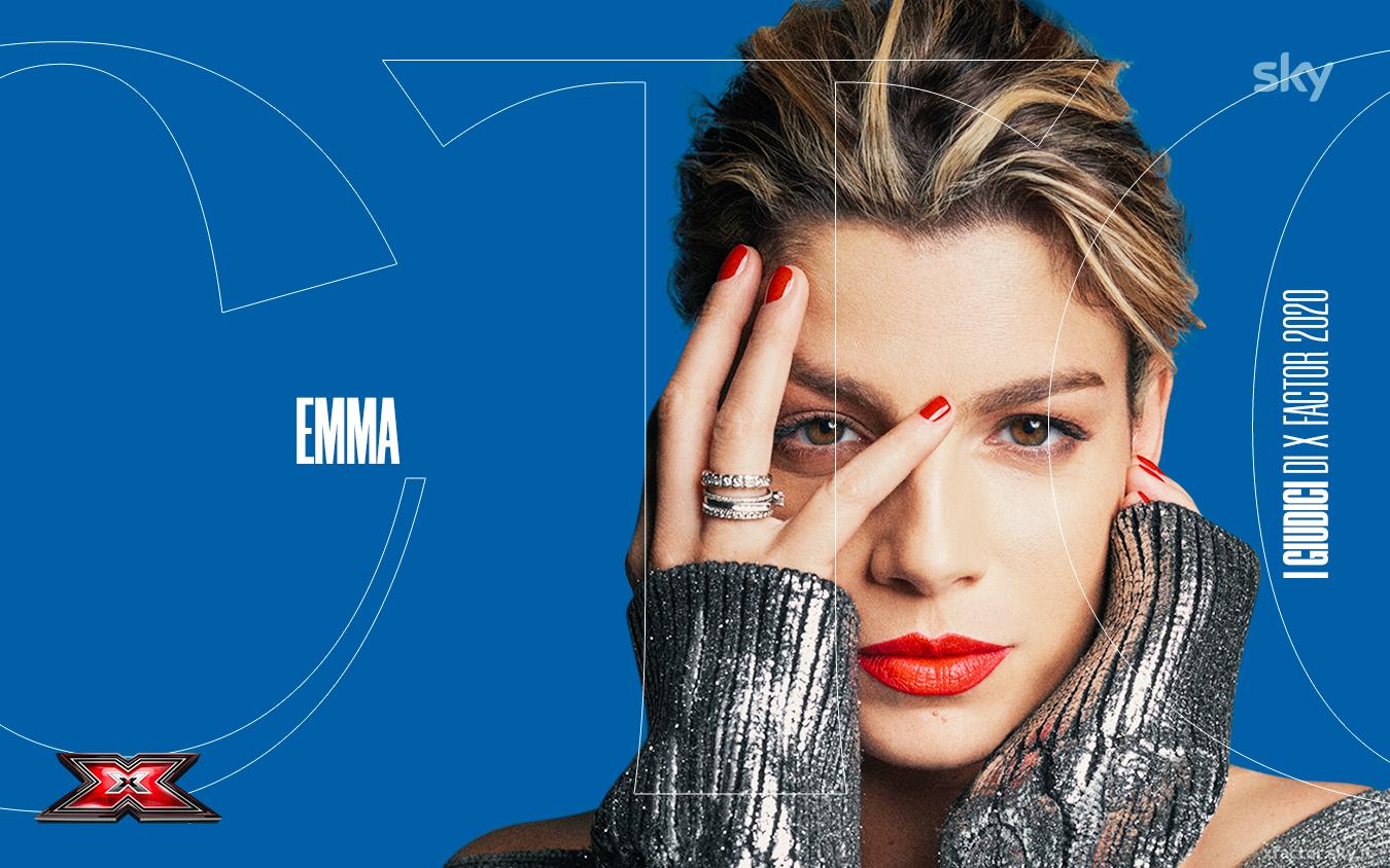 Emma giudice di X Factor 2020 – X Factor | Sky Uno