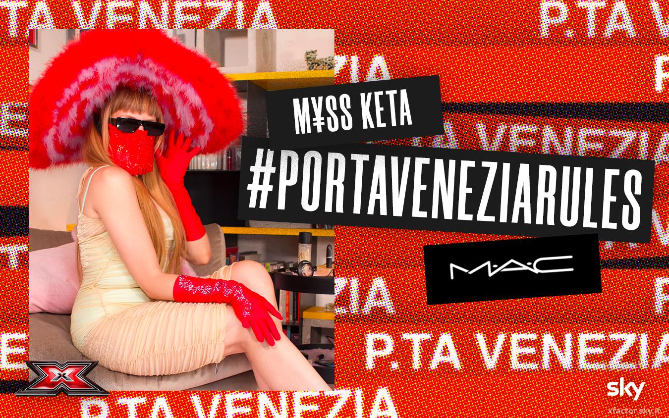 M¥SS KETA in cattedra per Porta Venezia Rules – X Factor | Sky Uno