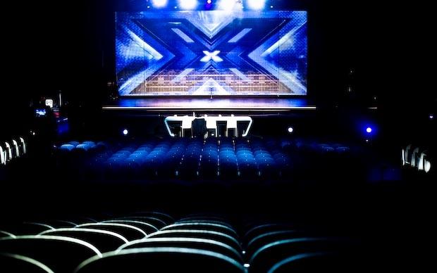 Il palco di X Factor