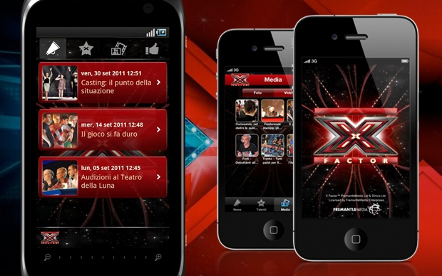 Le Applicazioni di X Factor 5!