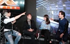 I giudici di #XF8 incontrano i giornalisti