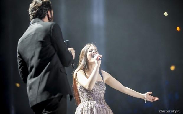 Violetta e Marco Mengoni