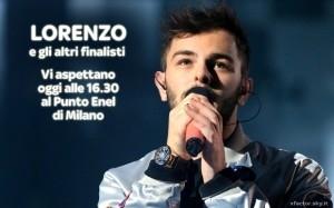 Lorenzo e gli altri Finalisti al Punto Enel